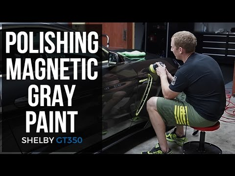 Dialing In My New Shelby GT350:  E8 - Polishing