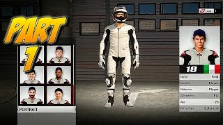 MotoGP 15 Walkthrough: Part 1 - Creating Our Rider! - PC Gameplay Playthrough - GPV247