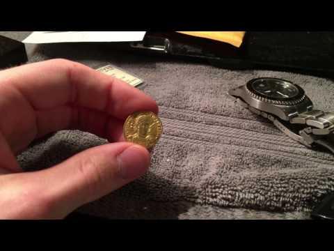 My constantius II Roman gold Solidus