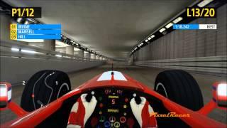 F1 2013 PC Gameplay, Classic Edition, Ferrari F399, Irvine, Monaco Race 25%, by PixxelRacer