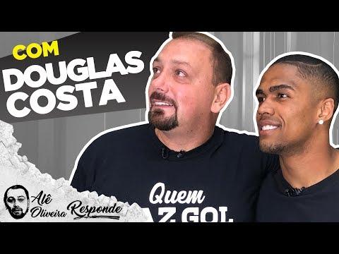 """DOUGLAS COSTA: """"CRISTIANO RONALDO CHEGOU O MELHOR DO MUNDO"""" - ALÊ OIRA RESPONDE 77"""
