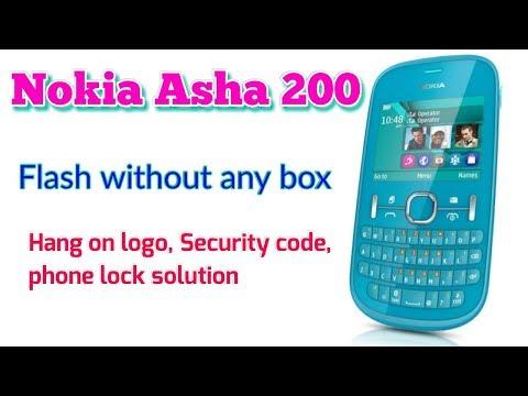 How to flash Nokia asha 200 without box, using usb pinout || Verified Tricks
