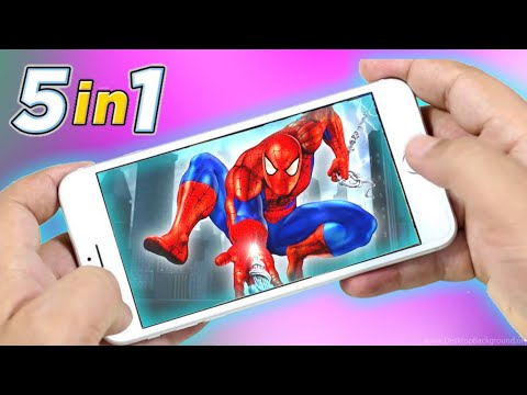 [40MB] Spider-Man 5 In 1 Android Games | 5 Spiderman Games For Android | Mavel Spiderman | Gameloft