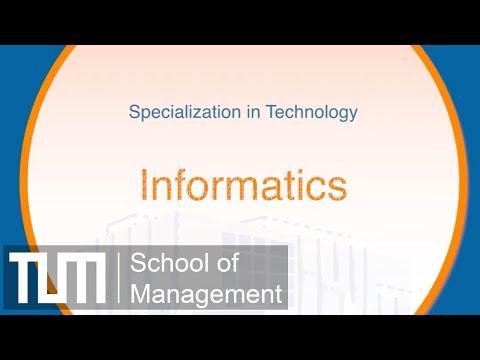 Specialization in Technology: Informatics
