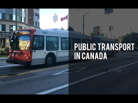 Public Transport In Canada - How To Travel In Bus