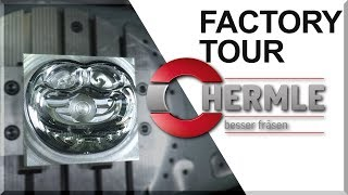INCREDIBLE 5-Axis Machines: Hermle Factory Tour!