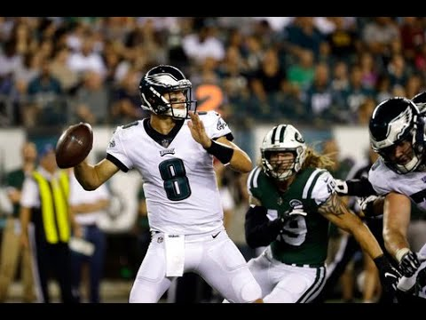 Christian Hackenberg discusses performance in Philadelphia Eagles preseason finale
