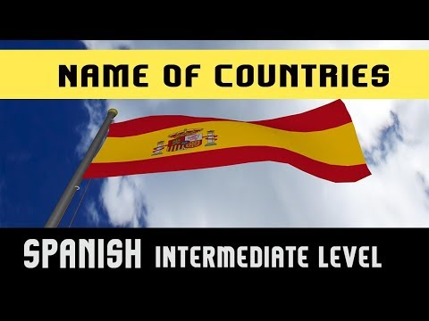 Learn Spanish Language | Name Of Countries | Nationality | Example