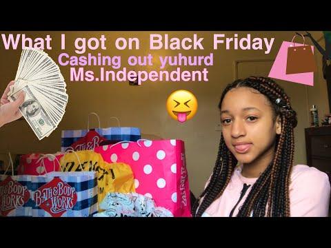 ' WHAT I GOT ON BLACK FRIDAY 😝