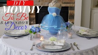 Mommy To Be Baby Shower Centerpiece | DIY Baby Shower Decoration Ideas
