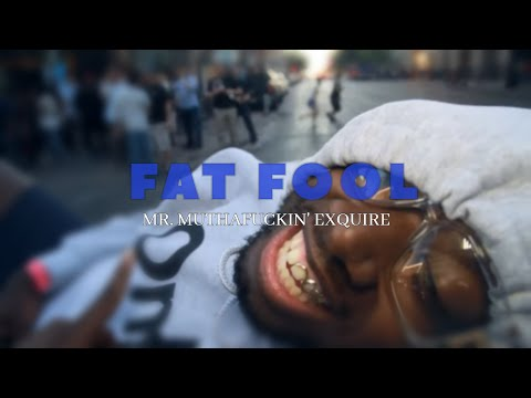 "Mr. Muthafuckin' eXquire - ""Fat Fool"" prod. by The Alchemist (Official Video)"