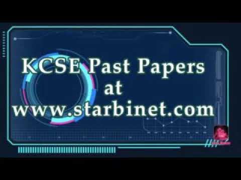 KCSE Biology Paper 2 2014 PDF: Free Past Papers 1