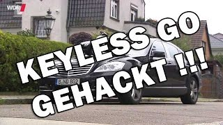 Keyless Go / Keyless Access gehackt - WDR - car hacking - Relay Station Attack