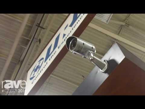 CEDIA 2016: URC Talks Surveillance Camera Integration With Lilin and Doorbird