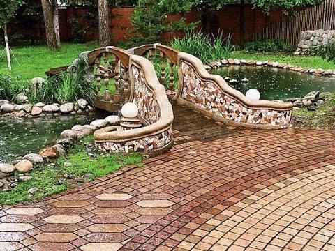 Оформление  дачного участка  Украшения для сада