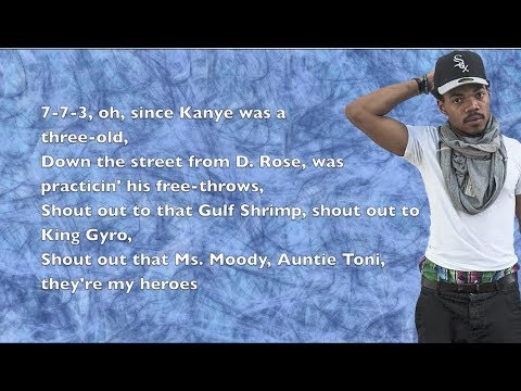Chance The Rapper - Hey Ma (ft. Lili K & Peter Cottontale) - Lyrics