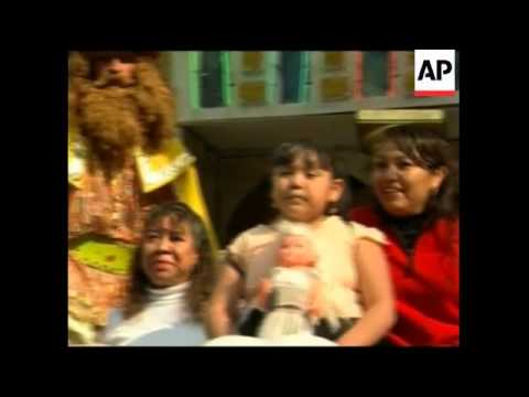 Mexico and Peru celebrate traditional Three Kings holiday