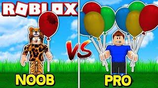 COLLECTING BALLOONS at ROBLOX