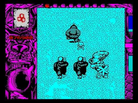 Mystical Walkthrough, ZX Spectrum