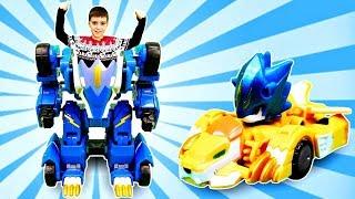 Роботы Монкарт: Мегароид Лео не может трансформироваться!