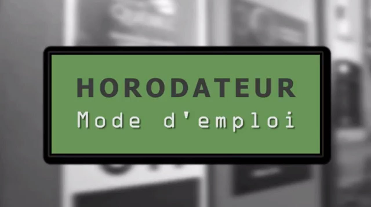 Horodateurs mode d 39 emploi youtube for Alarme verisure mode d emploi