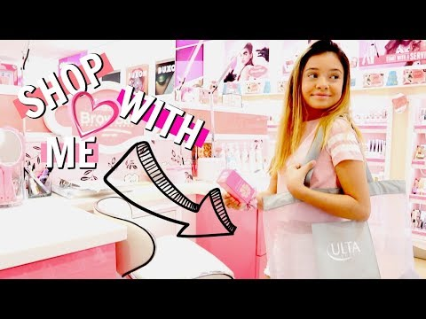 SHOP WITH ME  makeup shopping