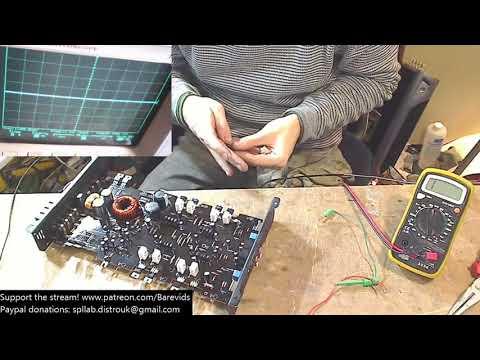 Small car amp repair - JVC 4-channel