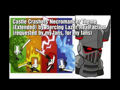 Piercing Lazer - Necromancer Theme (Extended) (Castle Crashers)