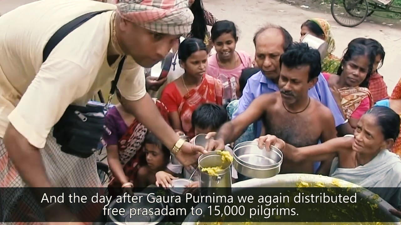 Project: Food for Life Mayapur