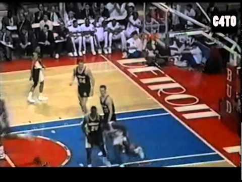 Pistons Orlando Woolridge Dunk Mix