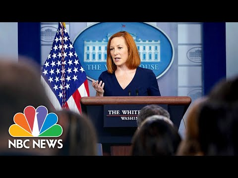 White House Holds Press Briefing: August 4 | NBC News