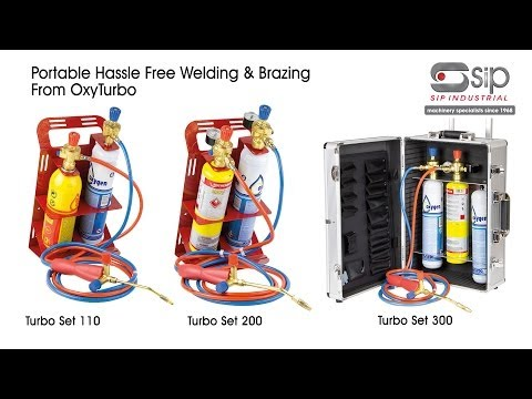 SIP Industrial Products | OxyTurbo - Totally Portable Hassle Free Welding & Brazing