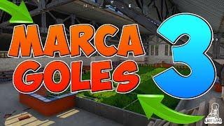 MARCA UN GOL EN CAMPOS DIFERENTES  MANERA FACIL - FORTNITE Desafío semana 7