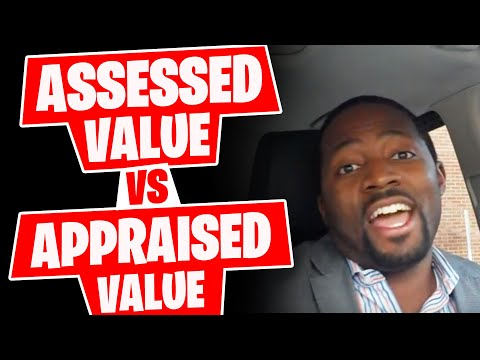 Assessed Value Vs Appraised Value With Robert Nichols