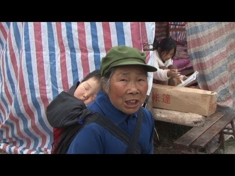 Elderly, women and young bear brunt of China quake
