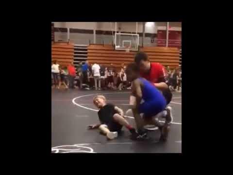 Black Kid Slams White Kid (w/ Jim Ross Commentary)