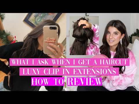 All About My Hair + How To Clip In Luxy Hair Extensions | Viviane Audi