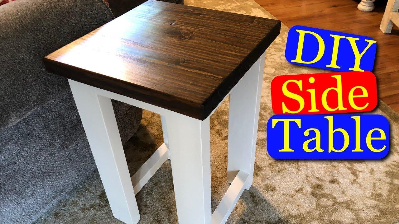 Diy Side Table Nightstand