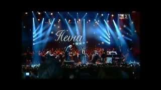 El gaitero de Villaviciosa Hevia con  Busindre Reel  en el Concierto de Navidad de Roma 2012