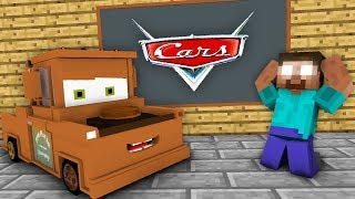 Monster School : Disney Pixar's Cars in Minecraft 2 GAME CHALLENGE  - Minecraft Animation
