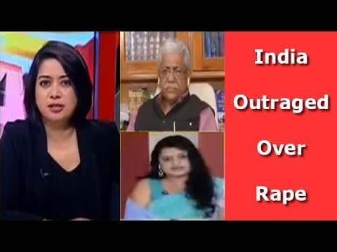 National Outrage Over Religion Politics Over Rape I The Urban Debate With Faye D'Souza