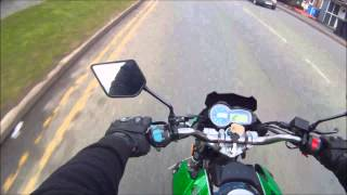 Lexmoto Venom 125 cc ride out with MP3 playing