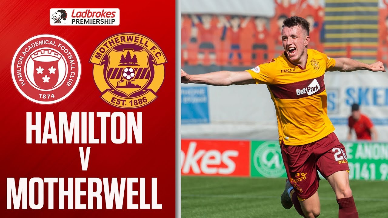 4db0f853 Hamilton 1-1 Motherwell | Late Ogboe Goal Salvages Accies a Point |  Ladbrokes Premiership