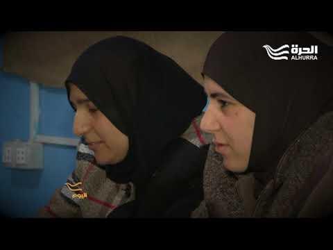 لقب أشجع امرأة... مجد شربجي  - 20:21-2018 / 2 / 18