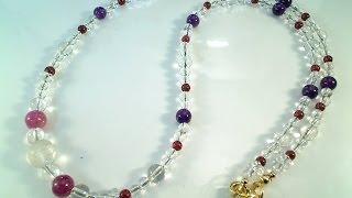 ネックレス作り方 (ワイヤー)