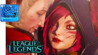 League of Legends - CG Трейлер «Дикая Магия» (Cinematic)