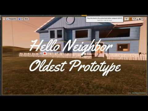 Hello Neighbor Early Prototype Exclusive not copied gameplay thumbnail