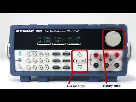 BK Precision- 9130B Series   Triple Output Programmable DC Power Supplies