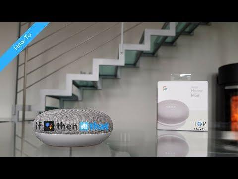 Come usare IFTTT com con Home Assistant e Google Home Mini nella