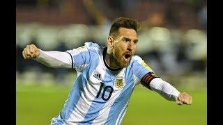 Лучшие голы Месси за Аргентину
